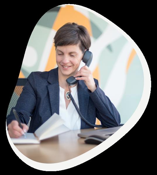 Contactez-moi - Admin comme sabine - Adjointe Administrative Virtuelle